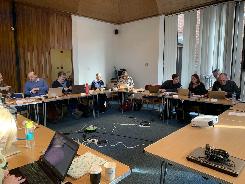 course attendees in woking february 2020