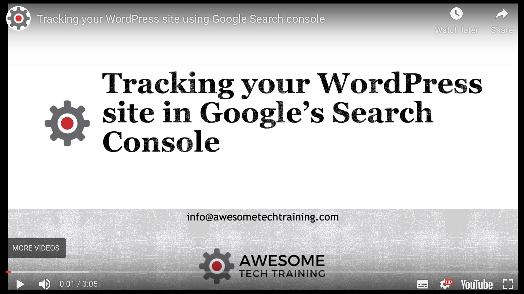 setting up your wordpress site in google search console